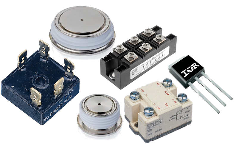 Ponti raddrizzatori,diodi ed SCR